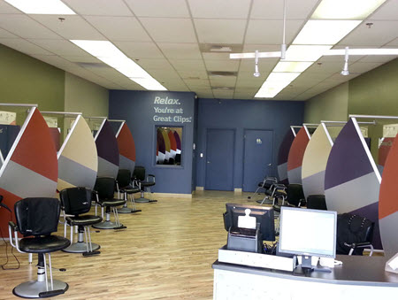 Great Clips Interior
