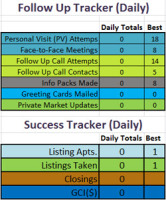 26 November 2014 Follow Up Tracker